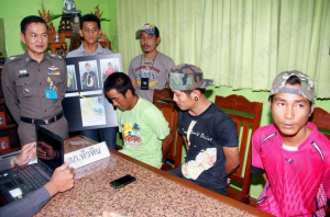 three toe rags arrested in Thailand