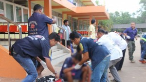 arrests at juvenile centre Thailand