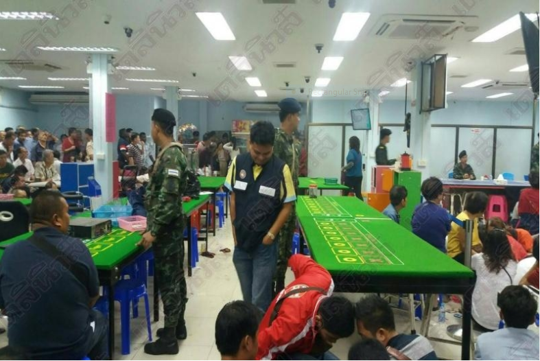 Casino busted on the Thai-Malaysian border – more than 200 gamblers arrested | Samui Times