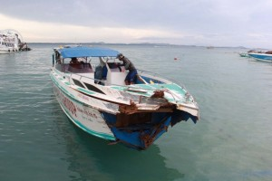 speedboat crash samet