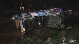 Bangkok to Chiangmai bus crash