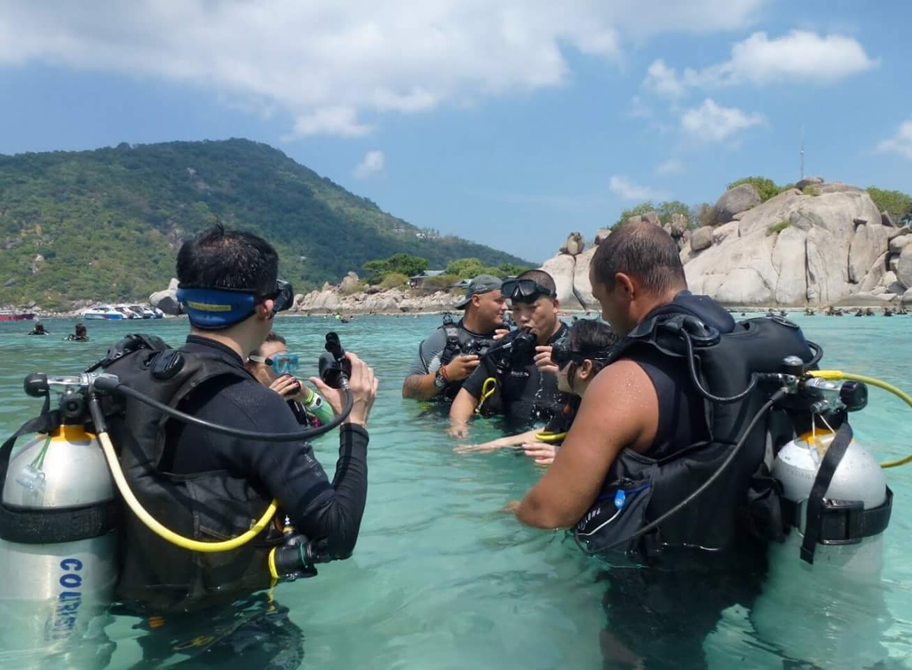 A great day had by all at Easy Divers day trip to Koh Nanguan | Samui Times