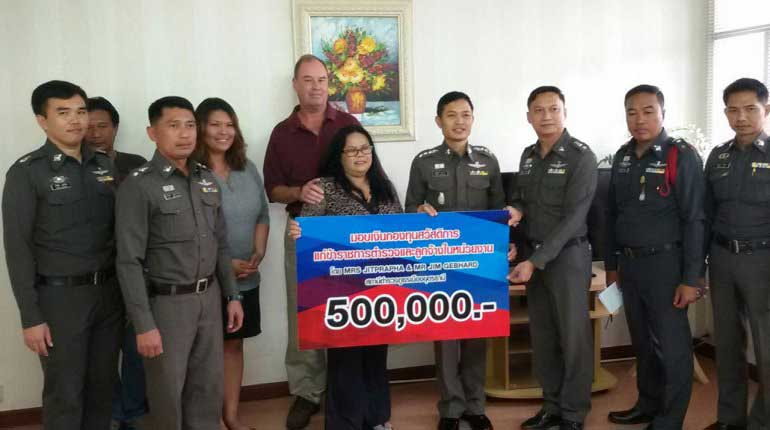 Happy Fourth of July – US man donates 500,000 to Thai police | Samui Times