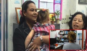 mother says sorry for beating child up in Thailand