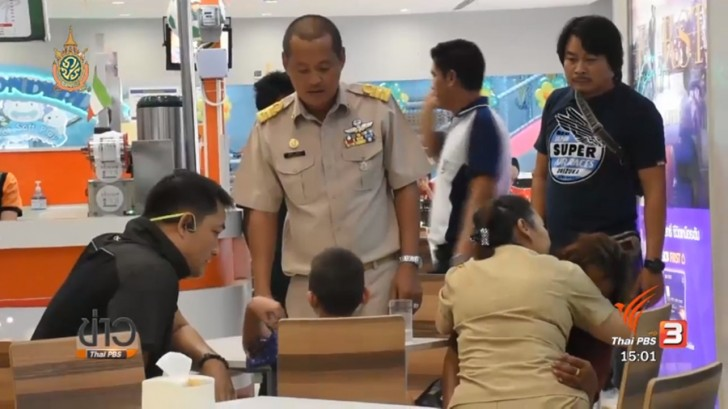 Happy ending of hostage-taking drama in Chanthaburi's Tesco Lotus | Samui Times
