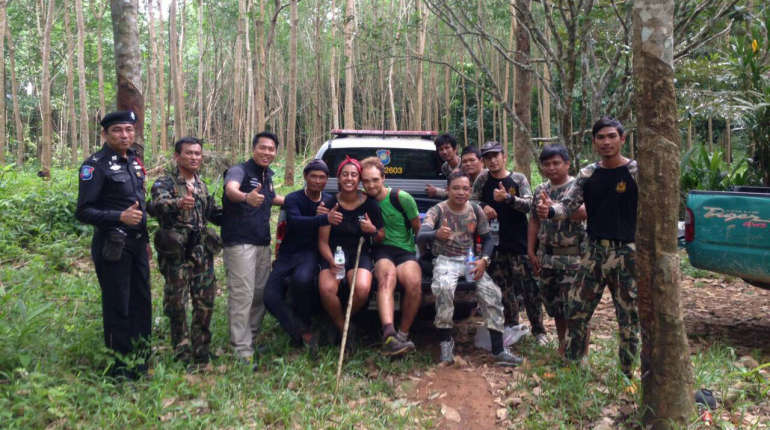 British tourists rescued after getting lost in Koh Chang forest | Samui Times