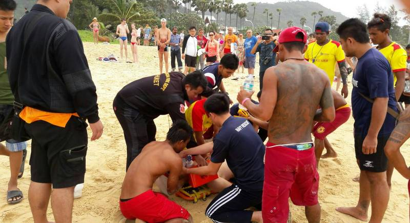 Russian drowns as dangerous surf forces lifeguards close sections of Phuket beaches | Samui Times