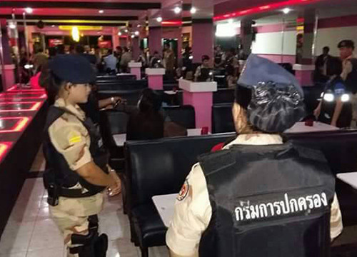 police posts Thailand