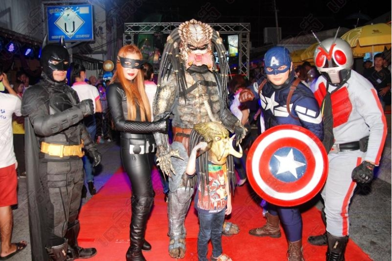 Walking Street Super Heroes to the Rescue – but it's Hua Hin not Pattaya | Samui Times