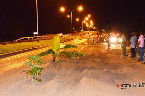 Furious Chumphon residents warn motorists Thai style after serious accidents   Samui Times