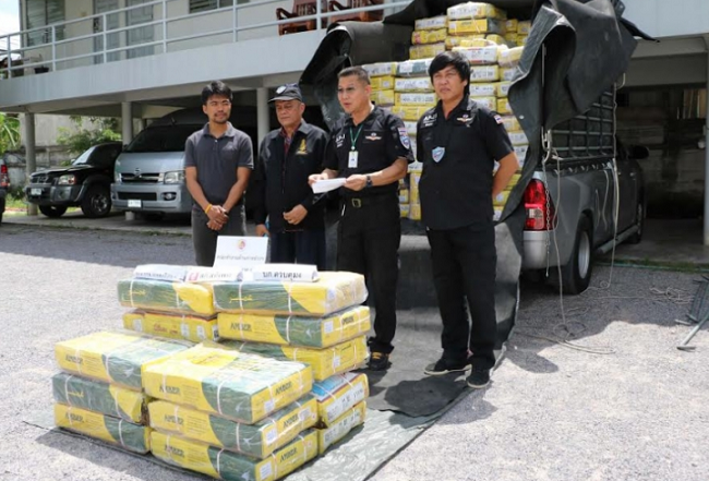 Not a drugs bust – this is frozen beef from India was heading for Bangkok! | Samui Times