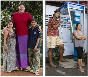 Thailands tallest woman
