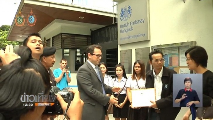 Protest at British embassy over plans to tackle underage drinking in Thai youths | Samui Times