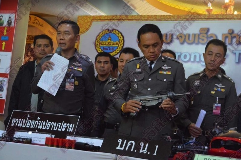 Uni student and pals arrested with drugs and war weapons in Bangkok rooms | Samui Times