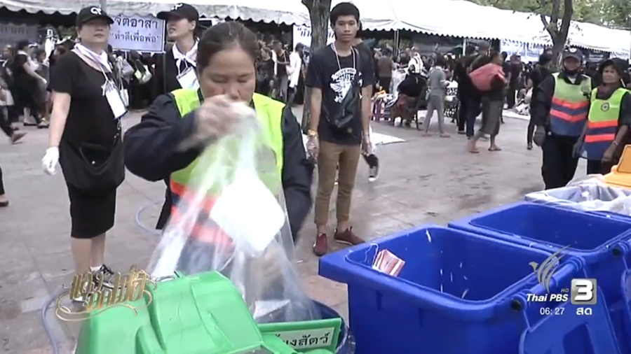 Donors asked not to use foams to contain food | Samui Times