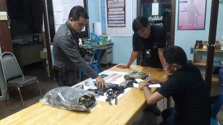 Hired gunman and drug dealer arrested in shootout in Prachuap | Samui Times
