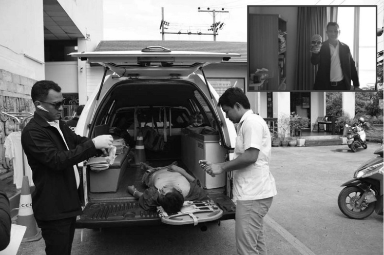 """Thai man """"obsessed with the occult"""" jumps to his death in Thonburi 