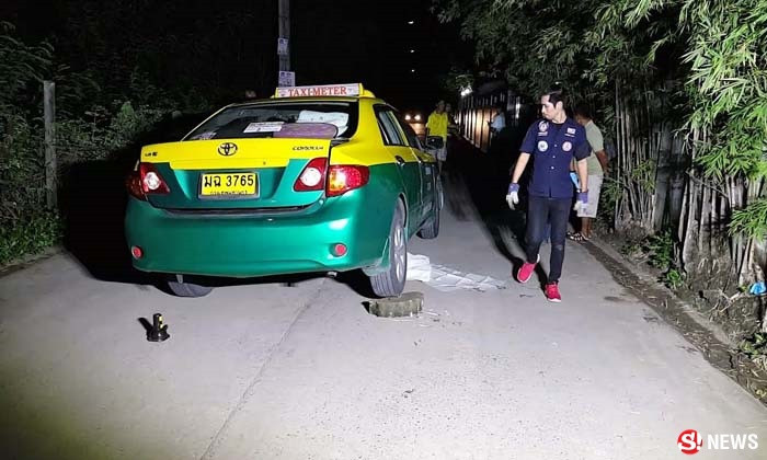 Taxi driver thought he had gone over an animal – took a look underneath the car; it's a human corpse | Samui Times