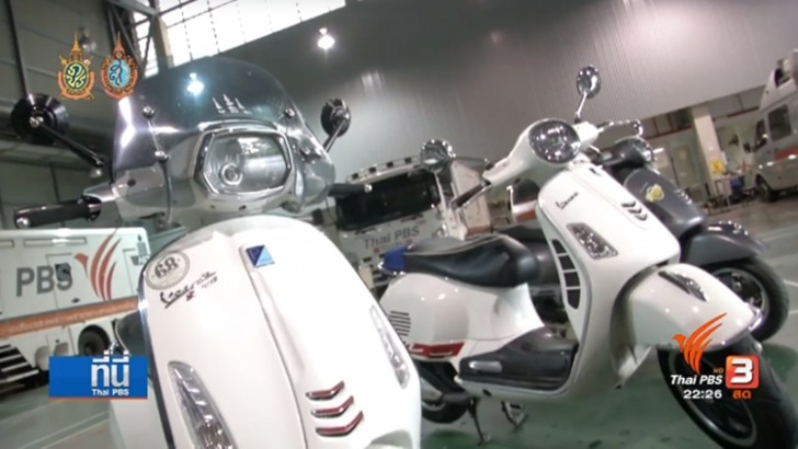 Importer of Vespa motorcycles faces over 500 million tax evasion charges | Samui Times