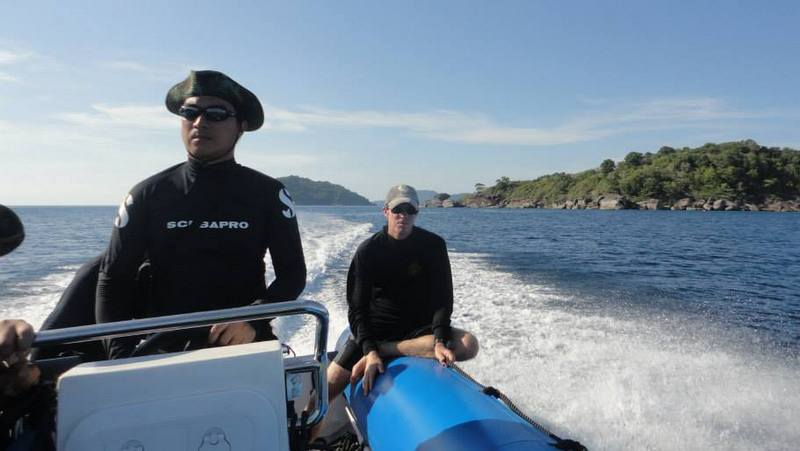 Search for missing russian at similans enters day 9 for Andaman healthy thai cuisine