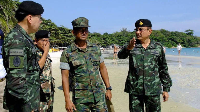 Mafia crackdown: Koh Samet gearing up for trouble as soldiers descend on holiday island today   Samui Times
