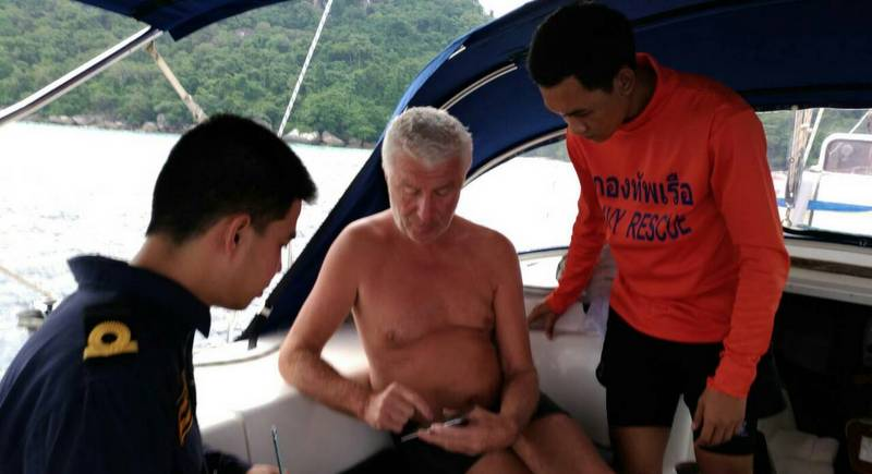 Rescue teams search for Russian man missing at Similan Islands | Samui Times
