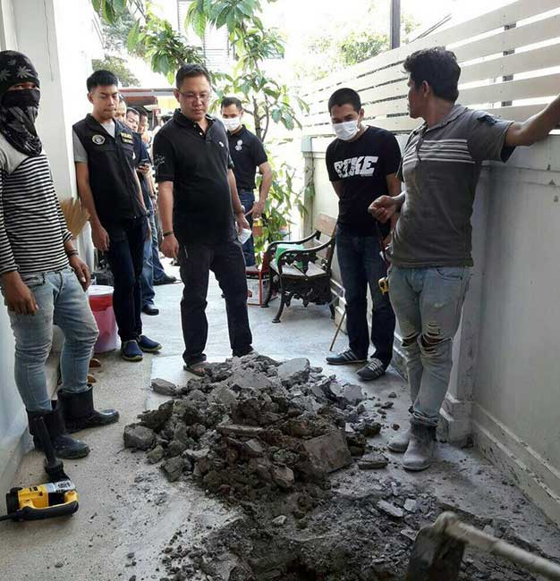 Israeli murderer: Police dig up house, search drains looking for his missing wife | Samui Times
