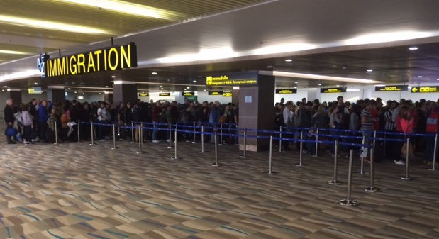 Take a number: Phuket Airport immigration still overloaded | Samui Times