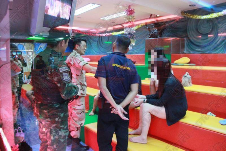 "Foreign massage girls ""not doing what it said on their work permits"" 