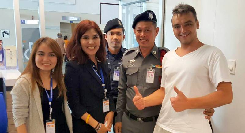 Russian tourist missing in 'wasted' midnight swim found safe at Phuket Airport | Samui Times