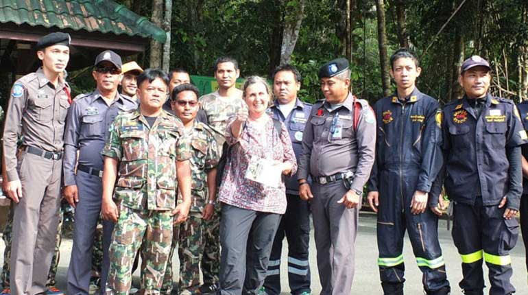Safe and sound – German tourist found after disappearing in Koh Chang | Samui Times
