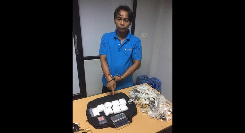 Surat Thani mini-van driver arrested in Phuket for drug possession | Samui Times
