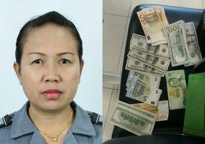 Suvarnabhumi security guard found abandoned suitcase full of cash | Samui Times