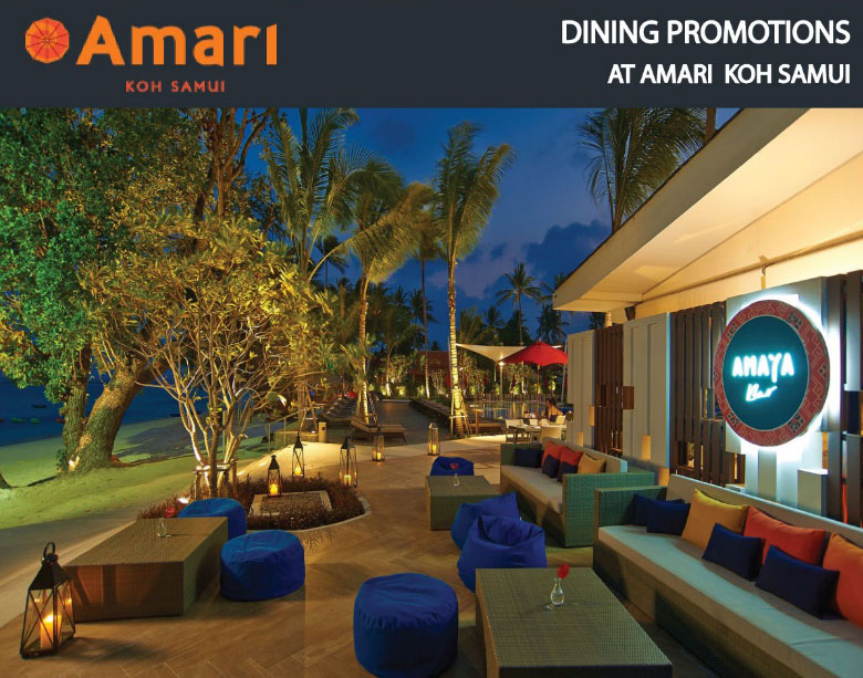 Amari and OZO Dining Card Promotions for January | Samui Times