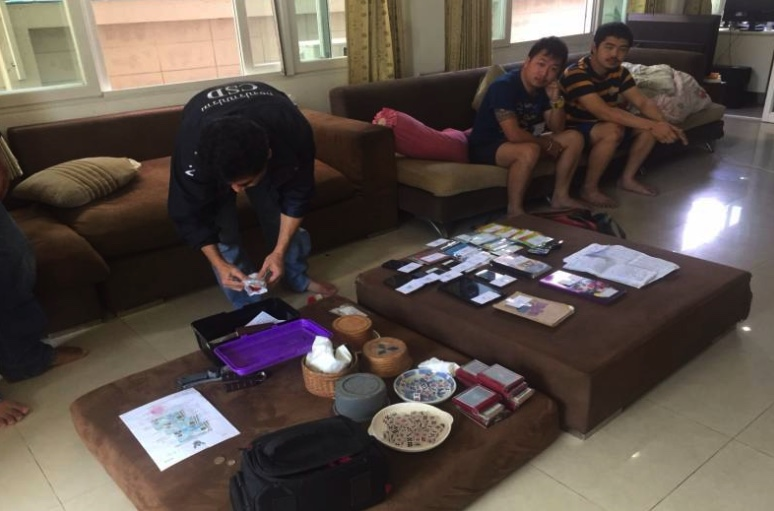 Arrests made as online football gambling den busted north of Bangkok | Samui Times