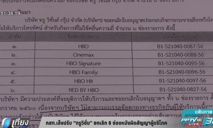 True Visions fined after ripping off customers over cancelled movie channels | Samui Times
