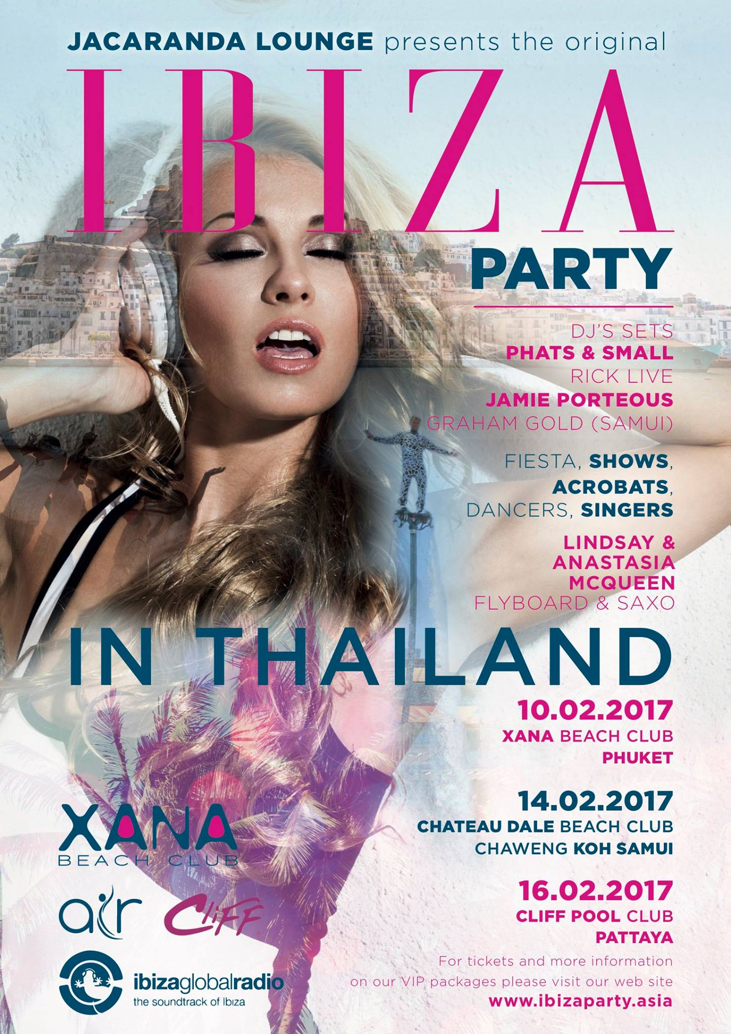 IBIZA PARTY ON KOH SAMUI 14th Feb. Chateaux Dale / Combo Beach Club Hotel – Chaweng Beach | Samui Times