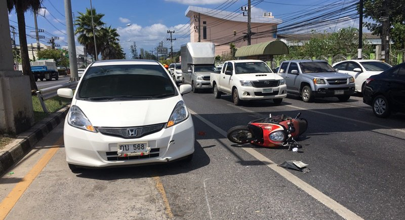 Collision with two cars leaves Phuket motorcyclist, 63, dead | Samui Times