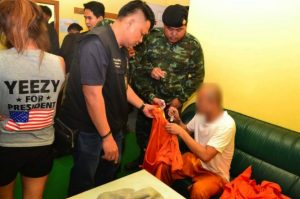 Horny monk celebrates Valentine's Day with teenage girl and yaba pills | News by Samui Times