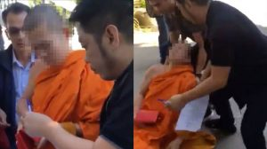 Senior monk faints on hearing news of his arrest for molesting a boy   News by Samui Times