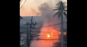 Phuket tourists flee as power cables catch fire | News by Samui Times