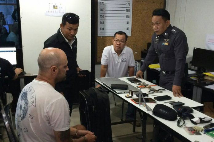 Snatch and stash: Police find Brit's trove of stolen goods in Phuket   Samui Times
