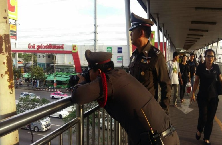 "Bangkok police say their ""fancy cameras"" project a great success as 30,000 tickets issued in 20 days 