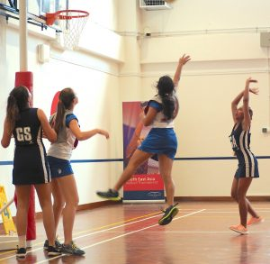 ISS in Singapore at Netball Competition Samui Senior Girls at Top SE Asian International Schools Games | News by Samui Times