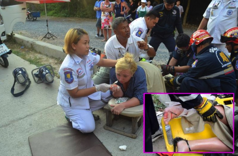 Welcome to Pattaya – Russian lady out for a stroll gets impaled on a spike | Samui Times