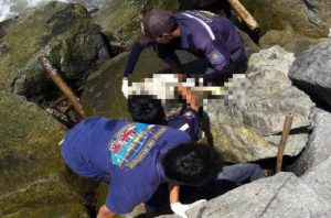Unknown human remains washed up on beach in Rayong   News by Samui Times