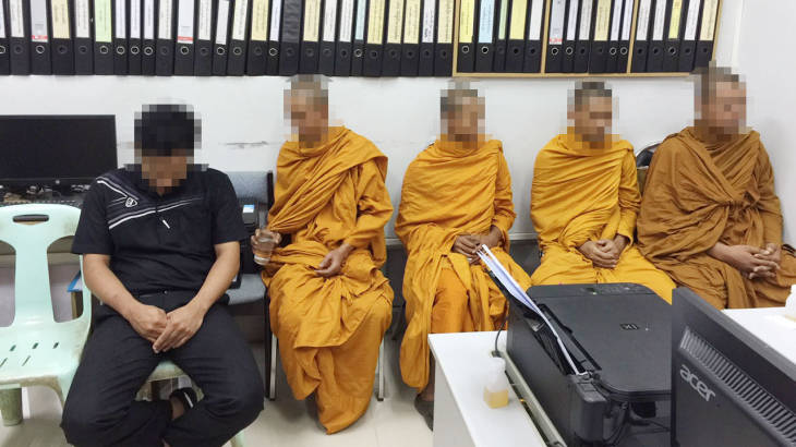 More drugs party monks defrocked – this time in Krabi temple | Samui Times