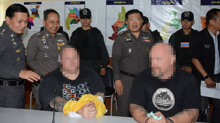 """Many foreign victims expected"" as two beefy extortionists arrested in Chiang Mai set-up 