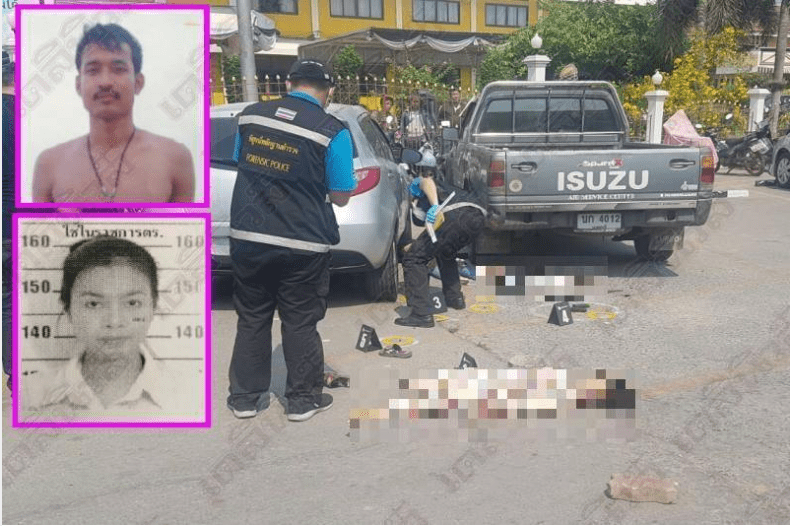 Four dead in family massacre in car park at Nonthaburi municipal offices | Samui Times