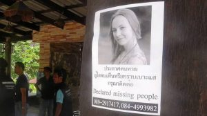 Missing Woman's mother arrives in Koh Tao:
